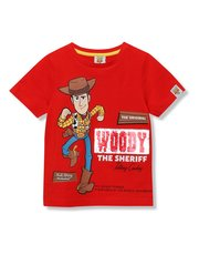Disney Toy Story two way sequin Woody t-shirt (18 mths - 7 yrs)