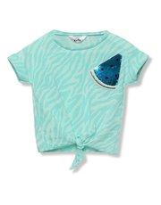 Two way sequin watermelon t shirt (3 - 12 yrs)