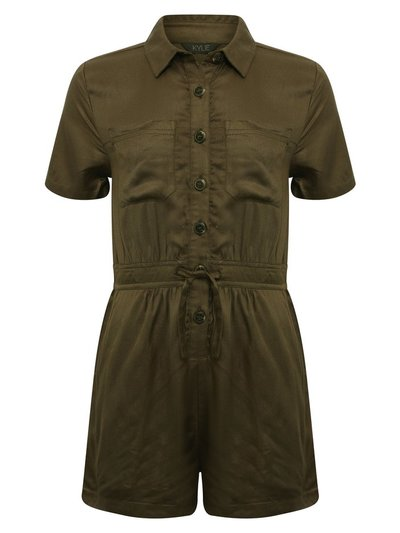 Teen utility playsuit