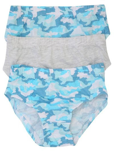 Camouflage briefs three pack (2-10yrs)