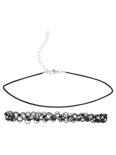 Teen choker necklace two pack