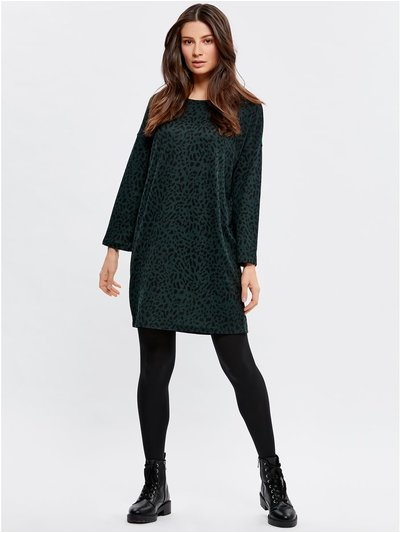 JDY leopard tunic dress