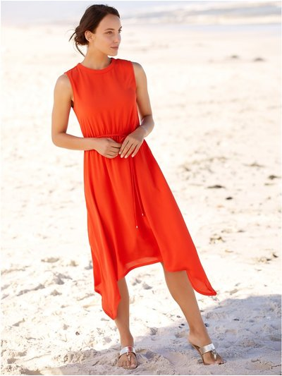 Hanky hem dress