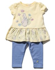 Peter Rabbit top and leggings set