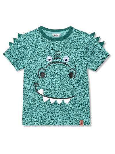 Dinosaur face t-shirt (9mnths-5yrs)