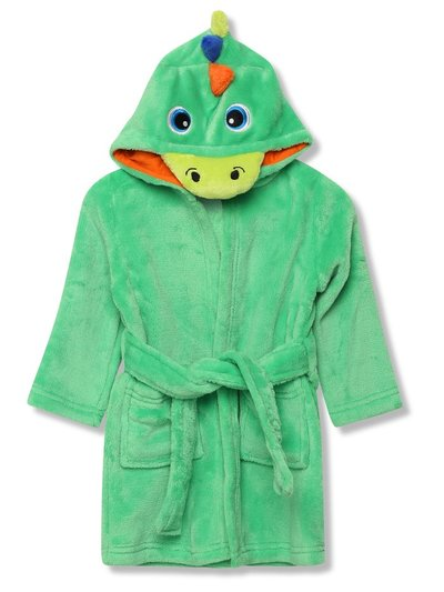 Dinosaur fleece dressing gown (1-6yrs)