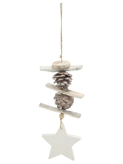 Pinecone hanging decoration