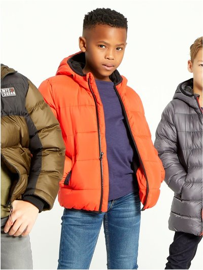 Padded puffer jacket (3-12yrs)