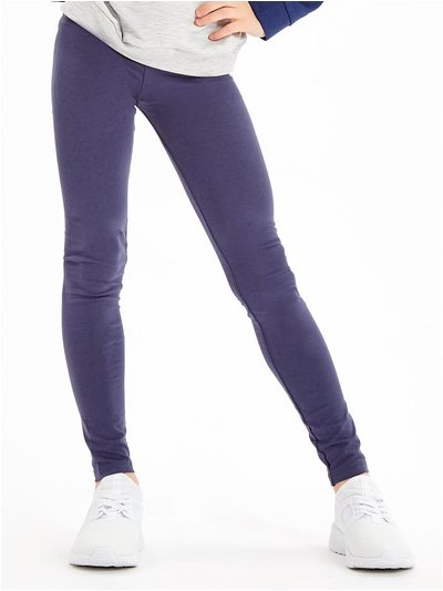 Plain navy leggings (3 - 10 yrs)