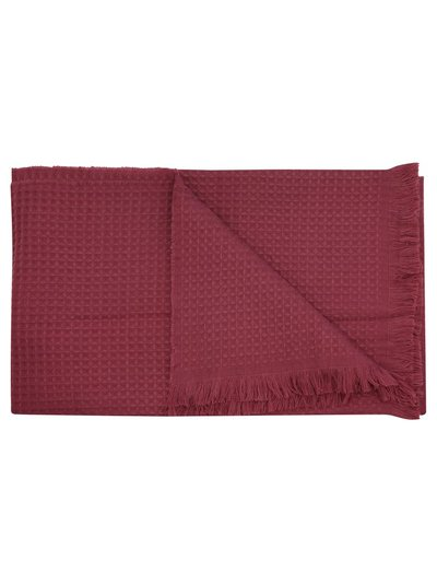 Berry waffle throw