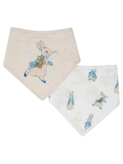 Peter Rabbit bibs two pack