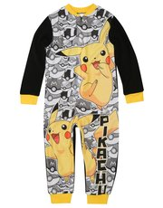 Pokemon fleece onesie