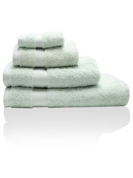 Light Green Combed Cotton Towels