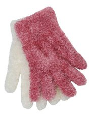 Fluffy gloves two pack
