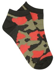 Camo trainer socks