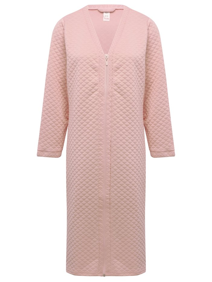 Quilted Zip Front Dressing Gown | Women\'s Dressing Gowns | M&Co