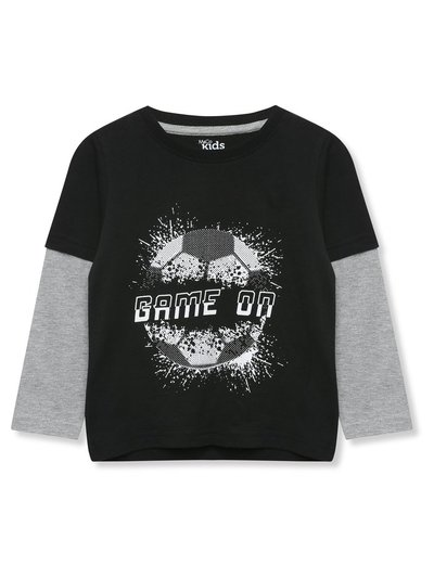 Game on football t-shirt (3-12yrs)