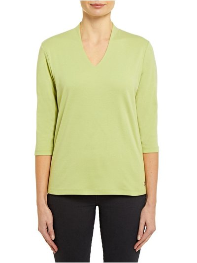 Penny Plain v-neck top