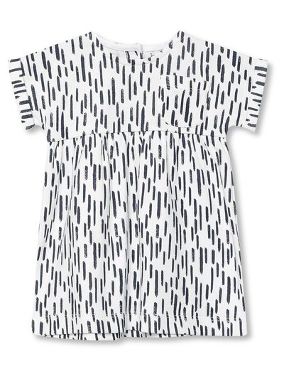 Mono print t-shirt dress (Newborn-18mths)