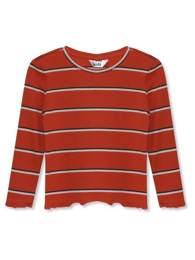 Striped long sleeve top (3-12yrs)