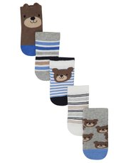 Bear socks five pack
