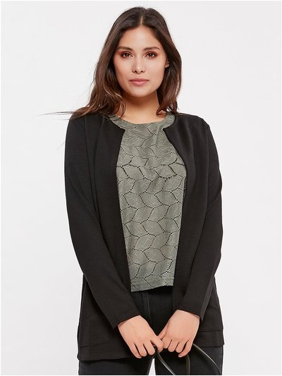 JDY ribbed cardigan
