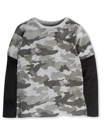 Camouflage top (3-12yrs)