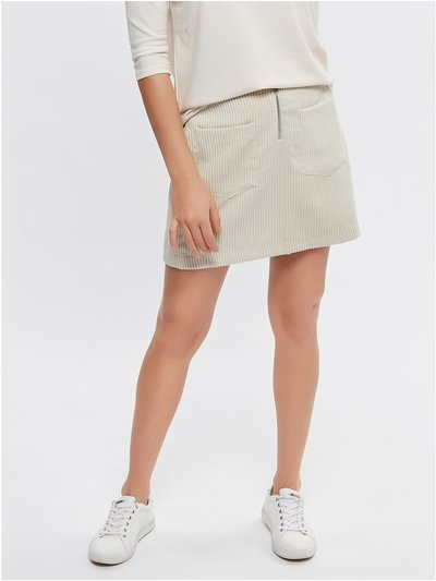 Vero Moda cord pocket skirt