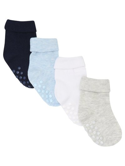 Plain socks four pack