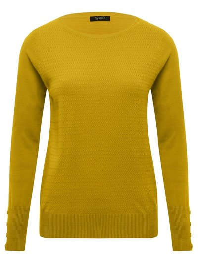 Spirit textured knit jumper