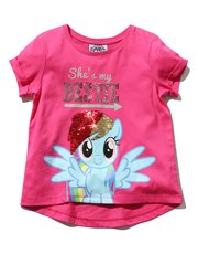 My Little Pony two way sequin t-shirt