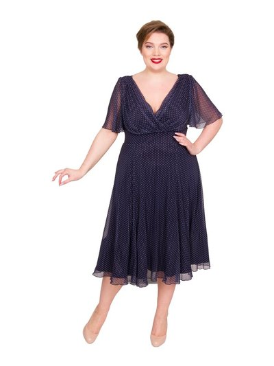 Scarlett and Jo marilyn float sleeve dress