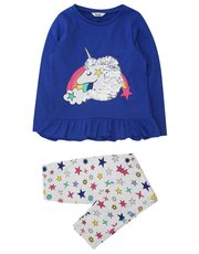 Two way sequin unicorn pyjamas (4 - 12 yrs)