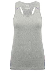 Training zone seam free vest top