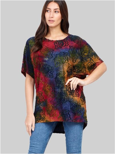Izabel abstract print t-shirt