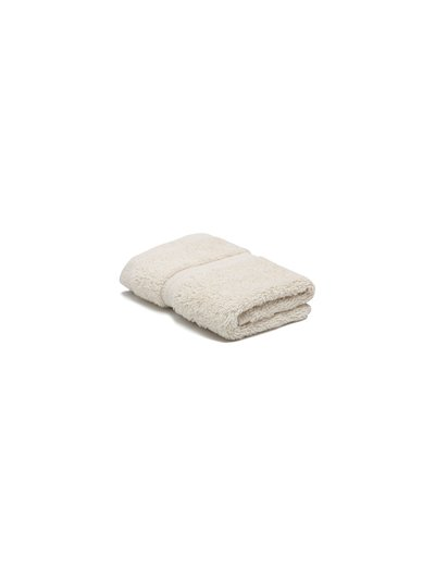 Stone combed cotton facecloth