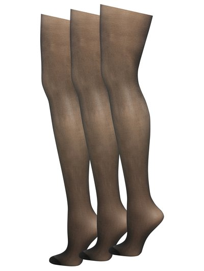 15 Denier tights three pack