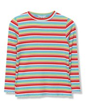 Ribbed rainbow t-shirt (3-12years)