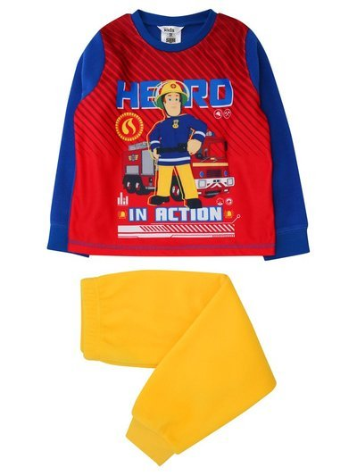 Fleece Fireman Sam pyjamas (18mths-6yrs)
