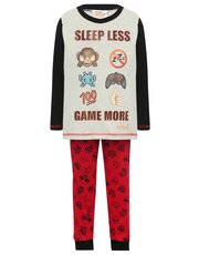 Emoji game print pyjamas