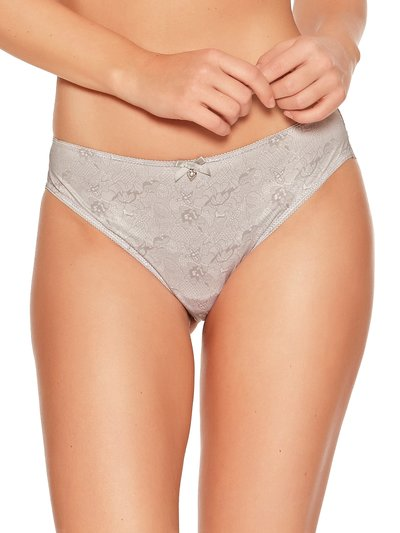 Lace back midi briefs