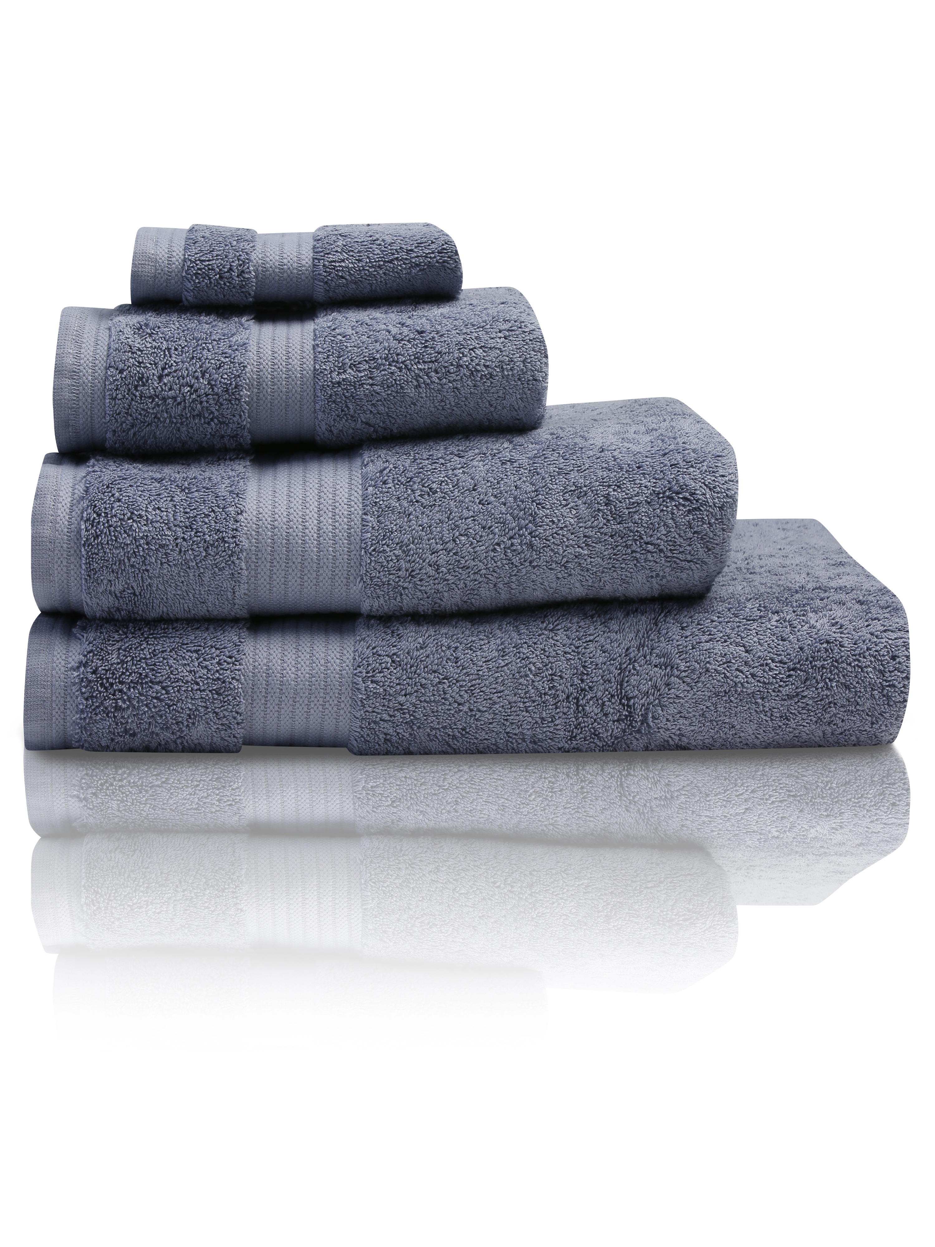 Denim Combed Cotton Towels
