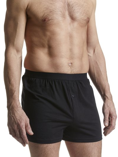 Cotton jersey plain boxers three pack