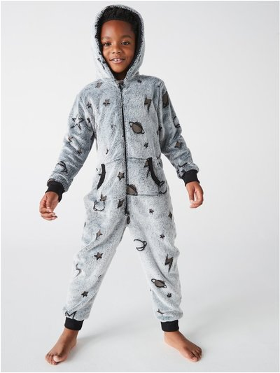 Outer space fleece oneside (1-12yrs)