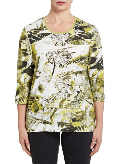 TIGI jungle print top