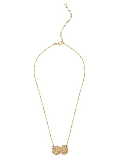 Teen gold coin necklace