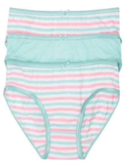 Striped briefs three pack (2-10yrs)