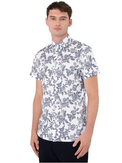 Steel & Jelly Faded Rose Short Sleeve Shirt