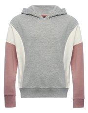 Teen colour block hoodie