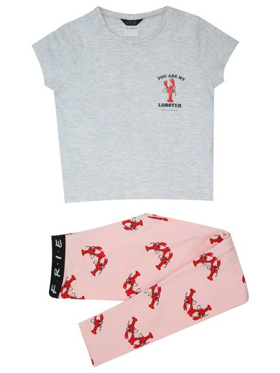 Teen Girl Lobster Friends pyjamas